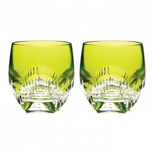 Waterford Mixology Double old Fashion Neon Lime Tumbler